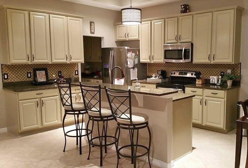 Kitchen Makeover in Millstone Milk Paint | Kitchen paint ...