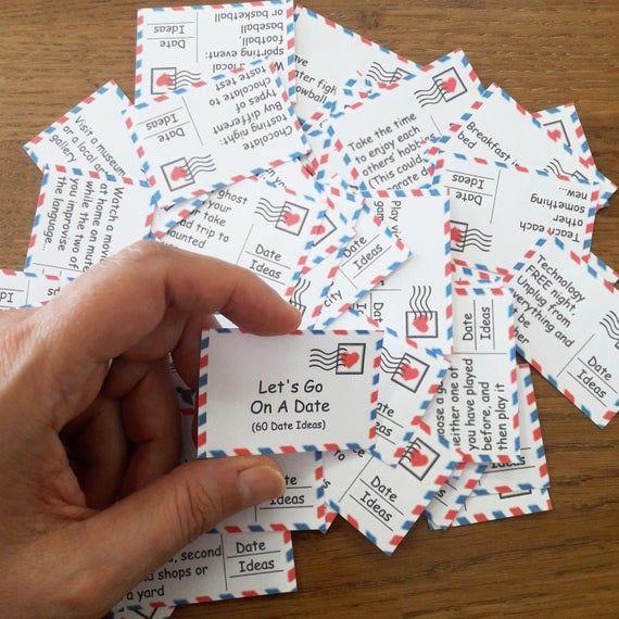 Heute Nacht 60 druckbare Karten Datum Nacht Jar Valentines | Etsy