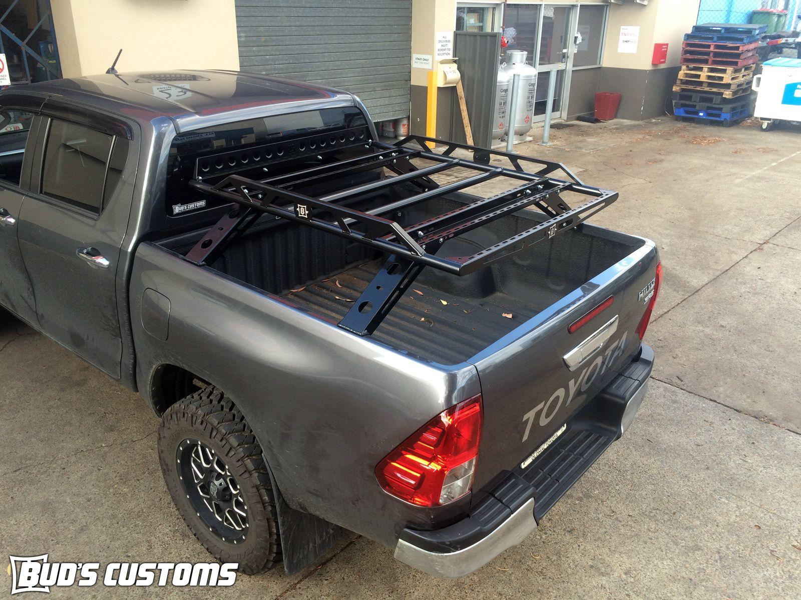 HILUX 05+ DUAL CAB 1.4M LONG TUB RACK | Car Stuff | Pinterest | Tubs ...