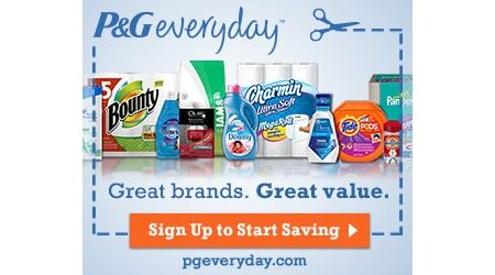 P&G Everyday - Great brands, Great value - Get Free Coupons and more!