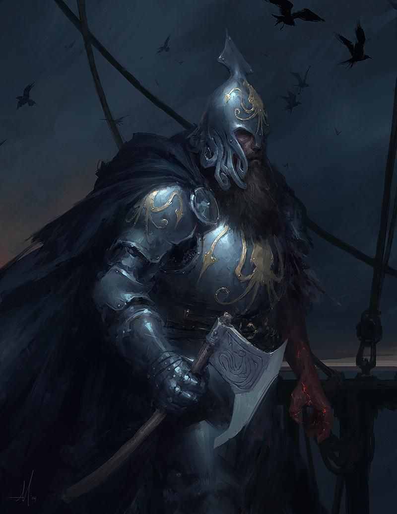 Victarion Greyjoy on Behance |Victarion Greyjoy Helm