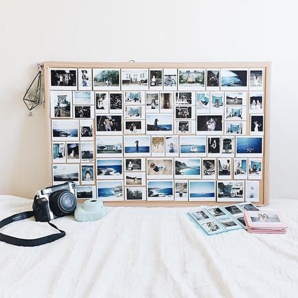 instax wide photo album urban outfitters dorm decor pinterest einrichtungstrends. Black Bedroom Furniture Sets. Home Design Ideas