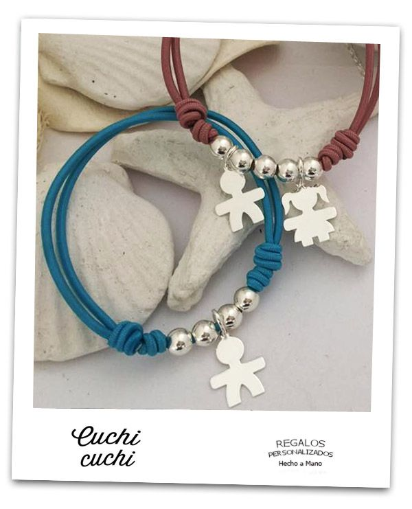 d5d1f59208c2 pulseras personalizadas siluetas joyas para la familia
