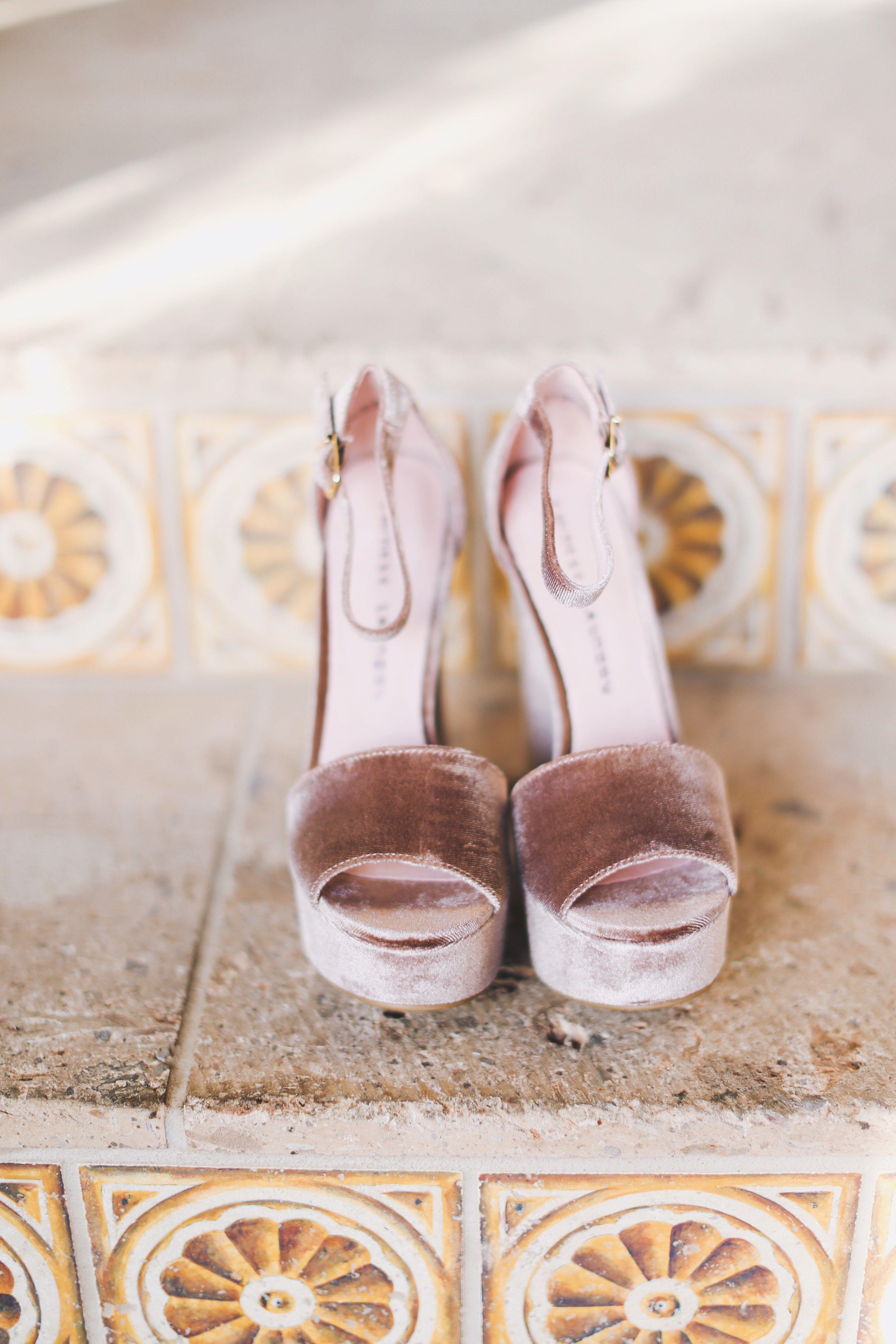 Gorgeous velvet heels