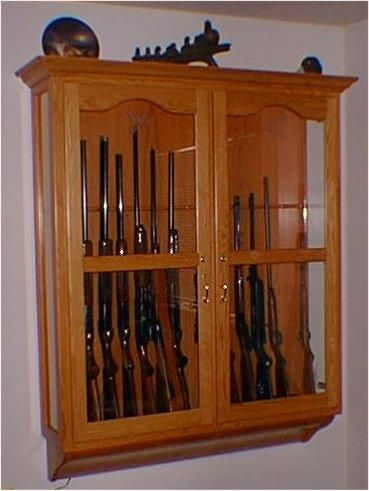 Charmant Wall Mount Gun Cabinet Plans.gif 369×491 Pixels