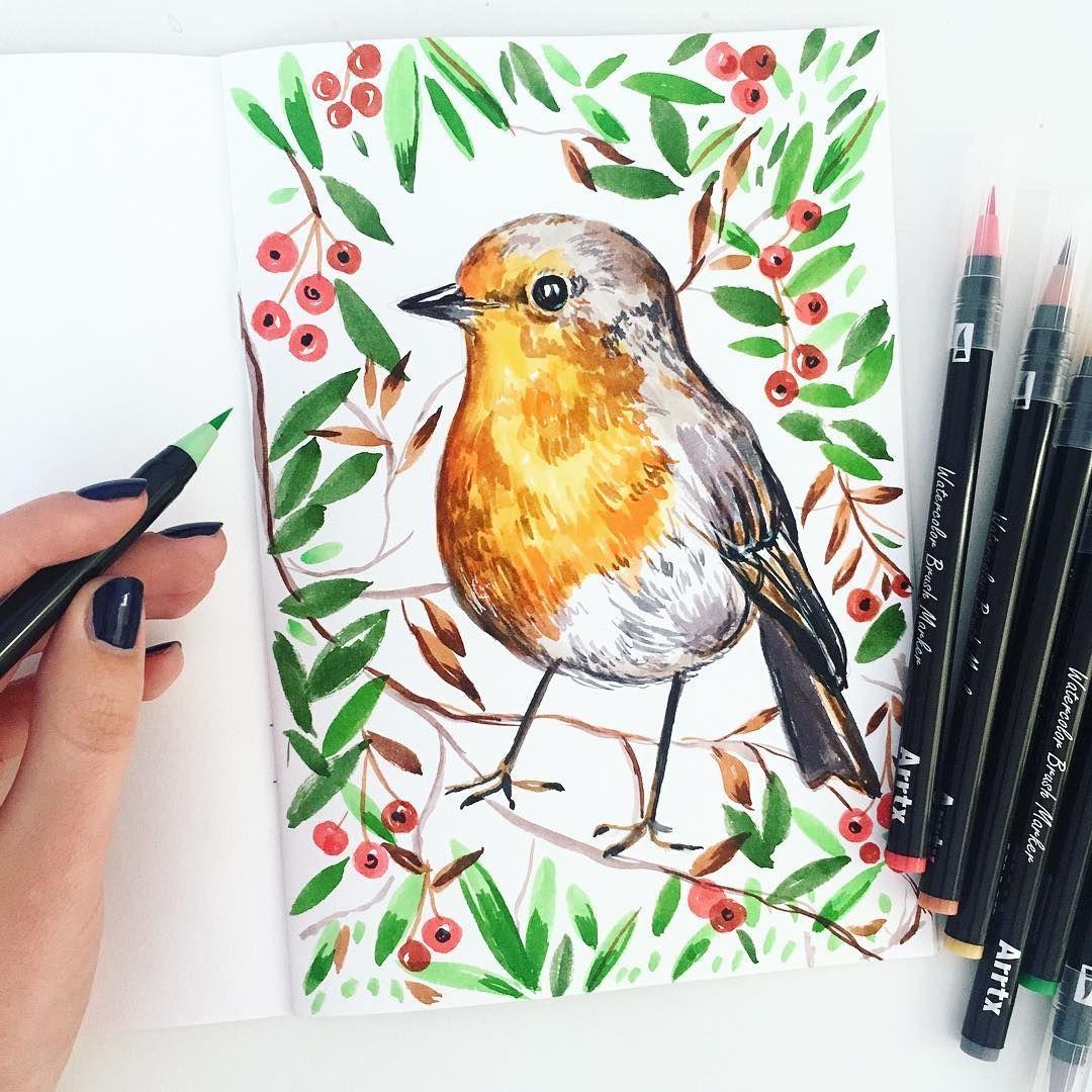 How I Use Filbert Paintbrush Watercolor Brush Tutorial