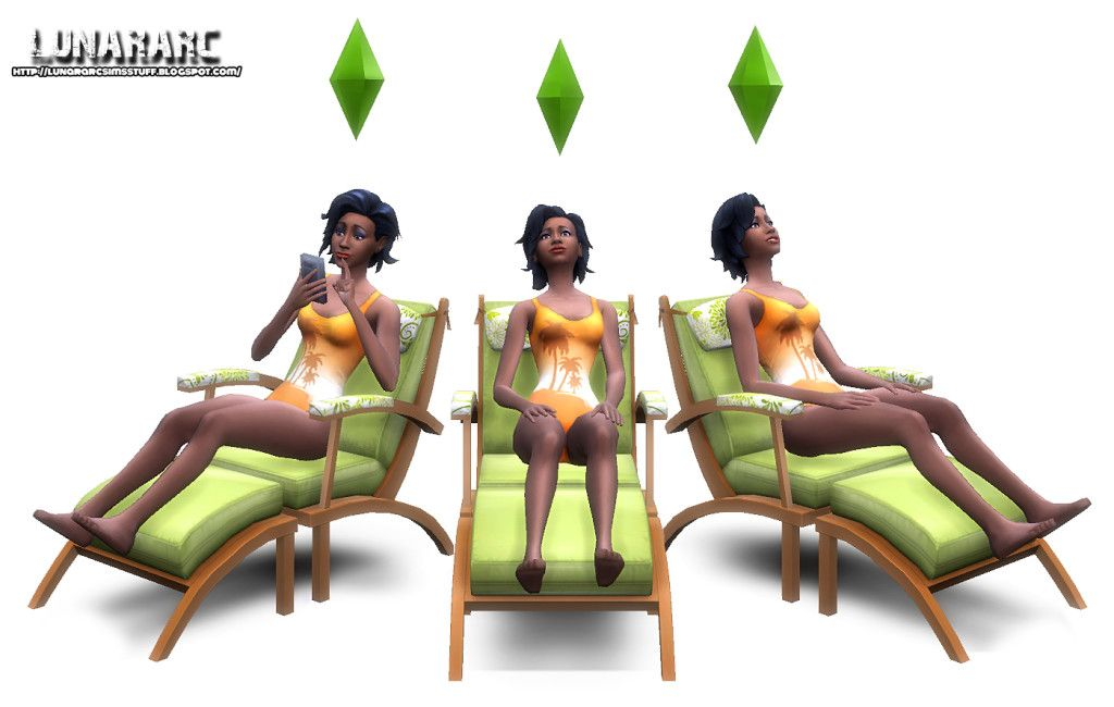 Sims 4 cc Functional Lounge Chair | Sims 4 | Sims 4 custom