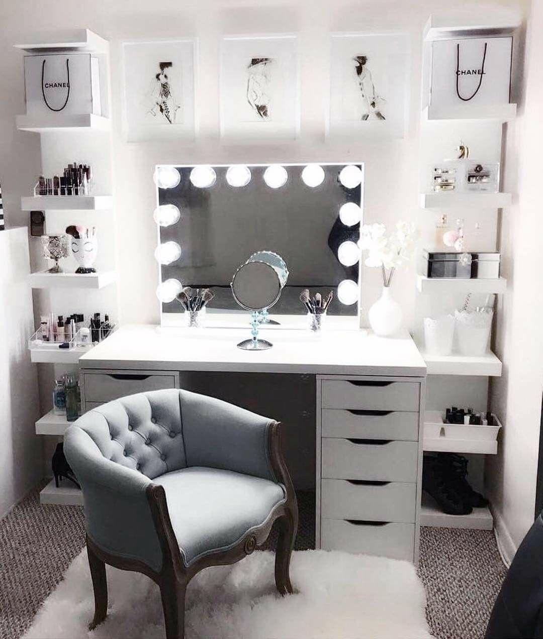 makeup vanity organization ideas. Speechless Jaw Dropping Space From Featuring Our Vanity Mirror Pinterest  Cosmicislander Bedroom Vanities