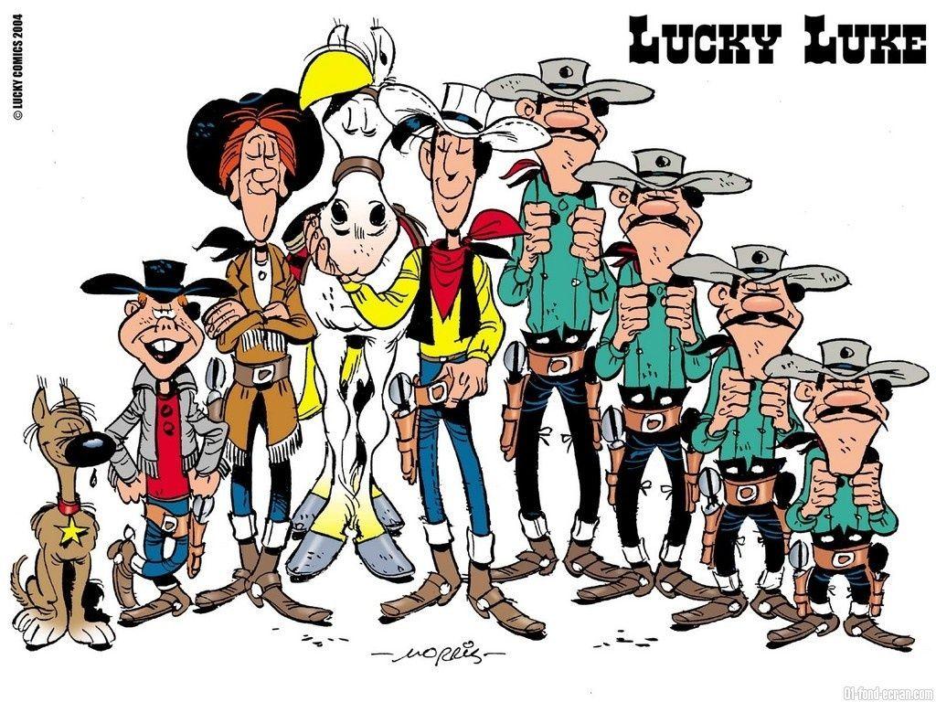 Lucky Luke 004 Jpg 1024 768 Comic Zeichentrick Zeichentrickserien