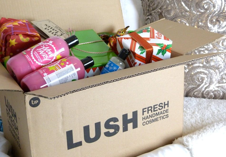 Lush offers a wide range of products at the lowest price