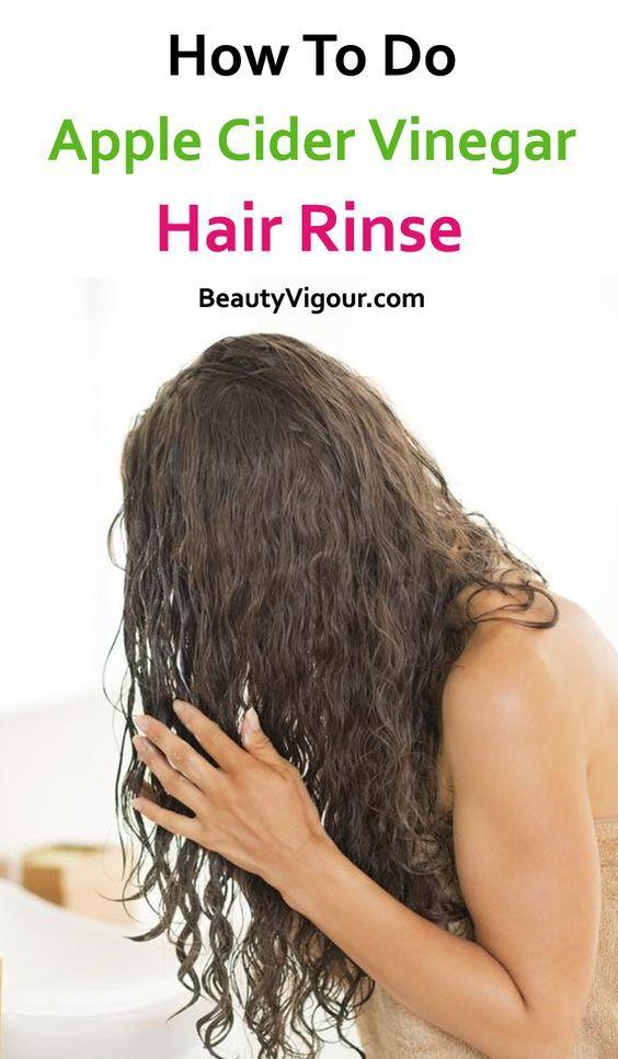 apple cider vinegar hair rinse #applecidervinegarbenefits