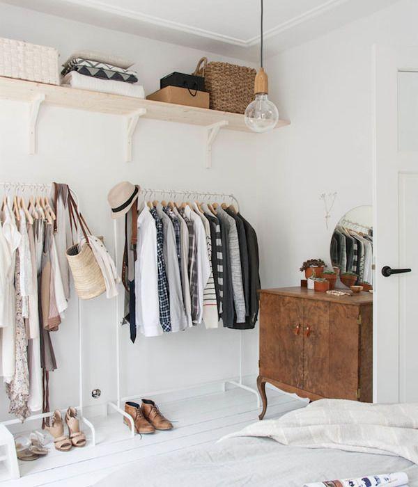 Vestidor low cost ideas pinterest vestidor - Colgador de ropa de pie ...