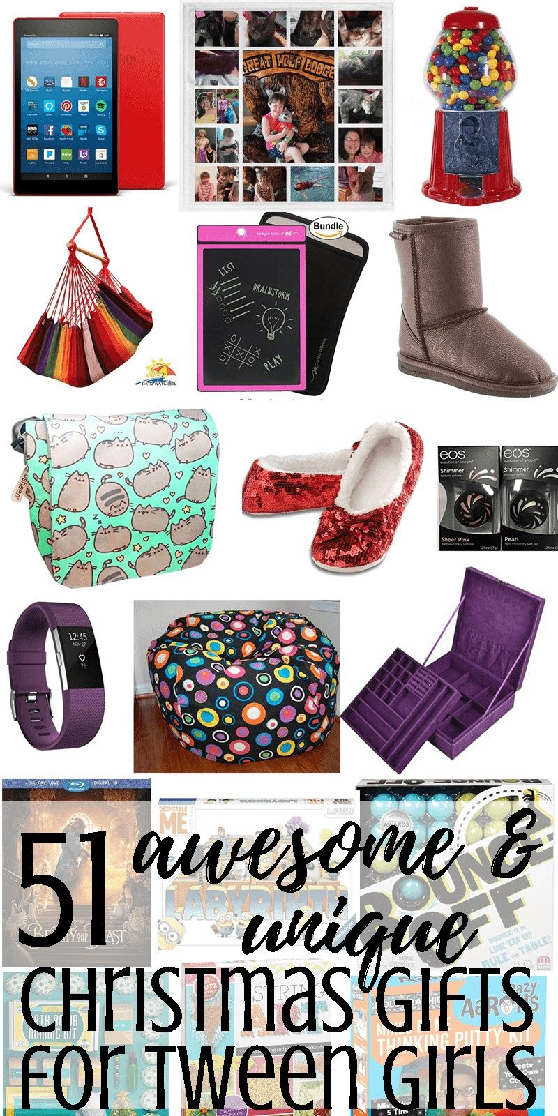 58 Awesome & Unique Christmas Gift Ideas for Tween Girls | Pinterest ...
