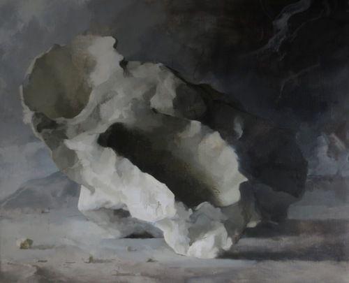 Claudia Carr Brackish 2, 2014 oil on canvas 113 x 92cms