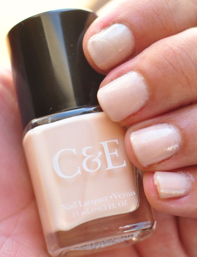 Crabtree & Evelyn Nud-est Nail Lacquer Collection Alabaster | Nail ...