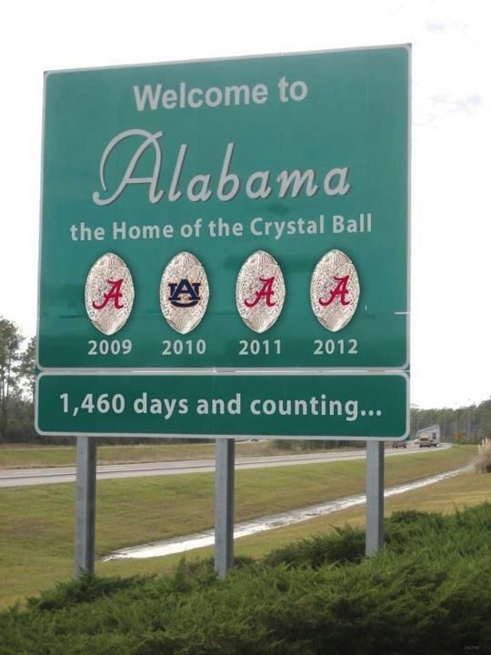 Roll Tide :) love this place