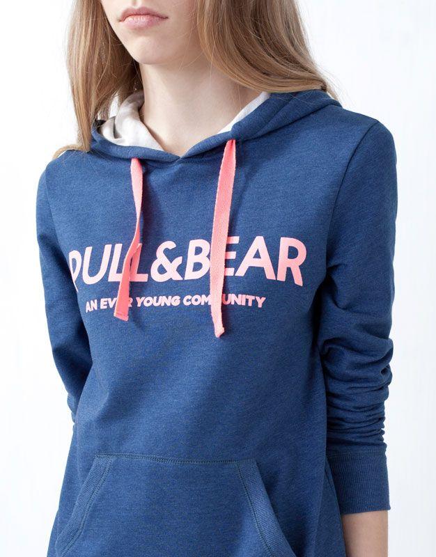 Sudaderas Mujer Pull Bear Espana Moda Fashion Sweatshirts Fashion