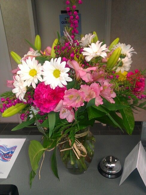 Nothing Like Being Surprised At Work For Your One Year Anniversary Love Him If Only I Would Surprises Like Th One Year Anniversary Year Anniversary Flowers