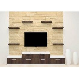 Tv Stand Designs In Plywood : Weever tv unit with laminate finish in tv unit online tv