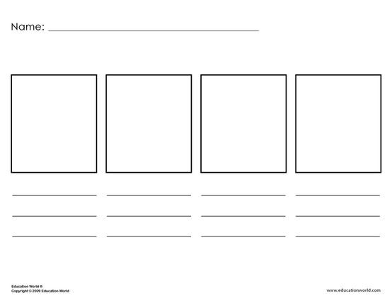 Template for elementary level students and timelines History - calendar timeline template
