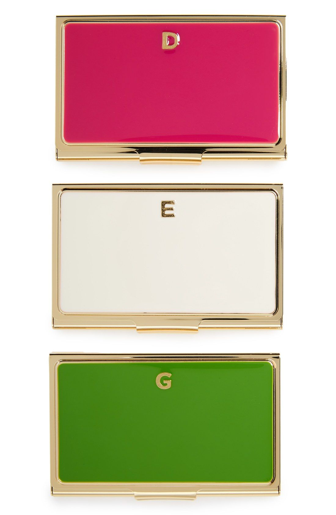 These classy Kate Spade business card holders are professional yet ...