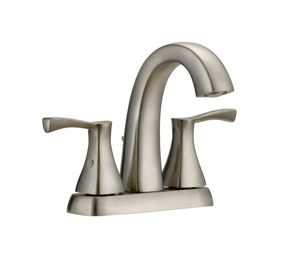 Glacier Bay Jaci 2 Handle 4in Centerset Bath Faucet In Brushed