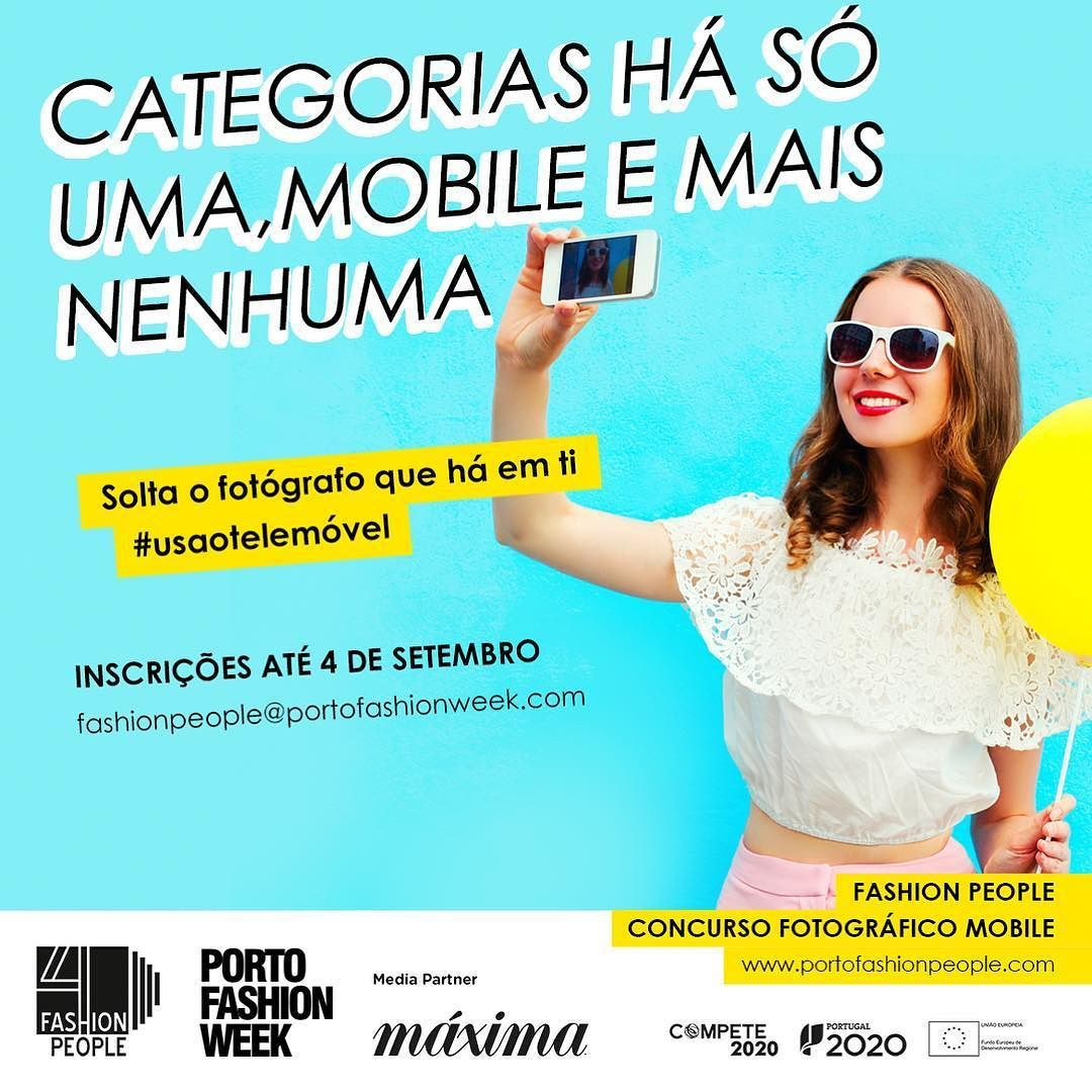 Vês #moda em todo o lado? Tens sempre o #telemóvel à mão ? Então este concurso é para ti!  Até ao dia 4 de setembro.  http://ift.tt/2tcz32D  #usaotelemóvel #pfw10 #letscelebrate