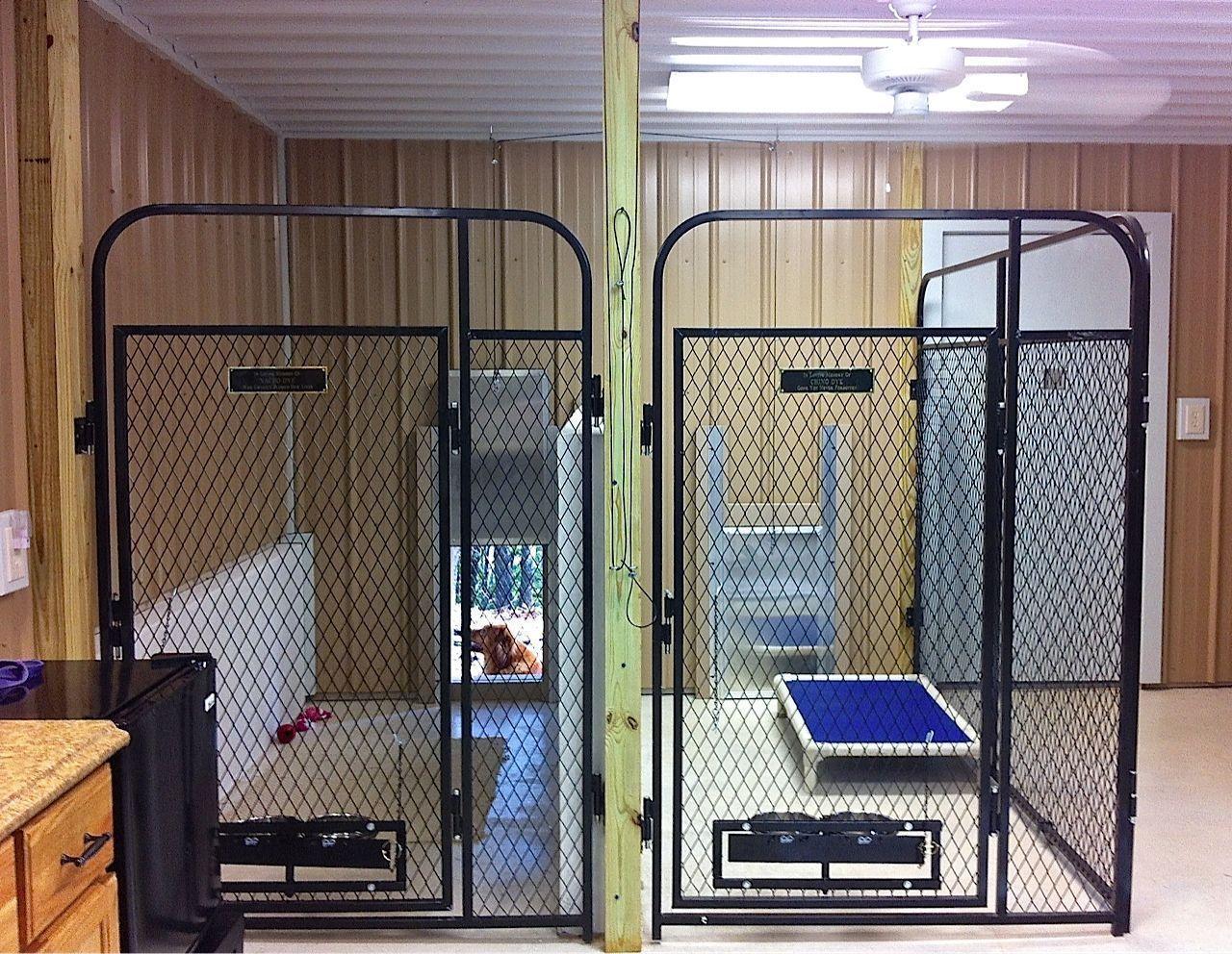 45 Outdoor Pet Room Design Ideas That Look Cute Dog Kennel Designs Dog Kennel Indoor Dog Kennel