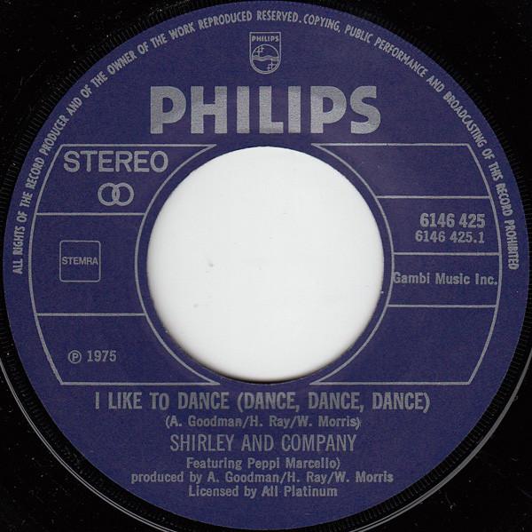 Shirley Company I Like To Dance Dance Dance Dance Vinyl 7 I Like To Dance Dance Vinyl