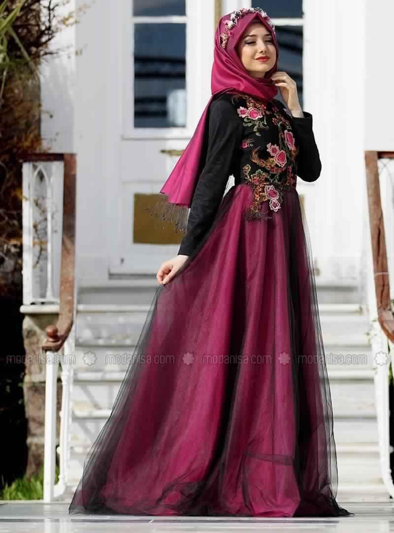 Robe de soirée pour femme voilée1 | Mode femmes voilées | Pinterest