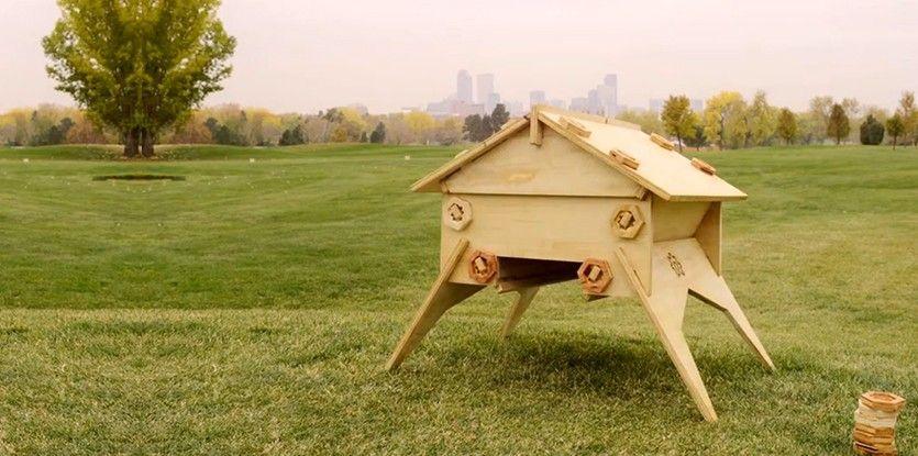 Construire sa ruche open source pour sauver les abeilles via soonsoonsoon la cire d 39 abeilles - Construire une maison pour insectes ...