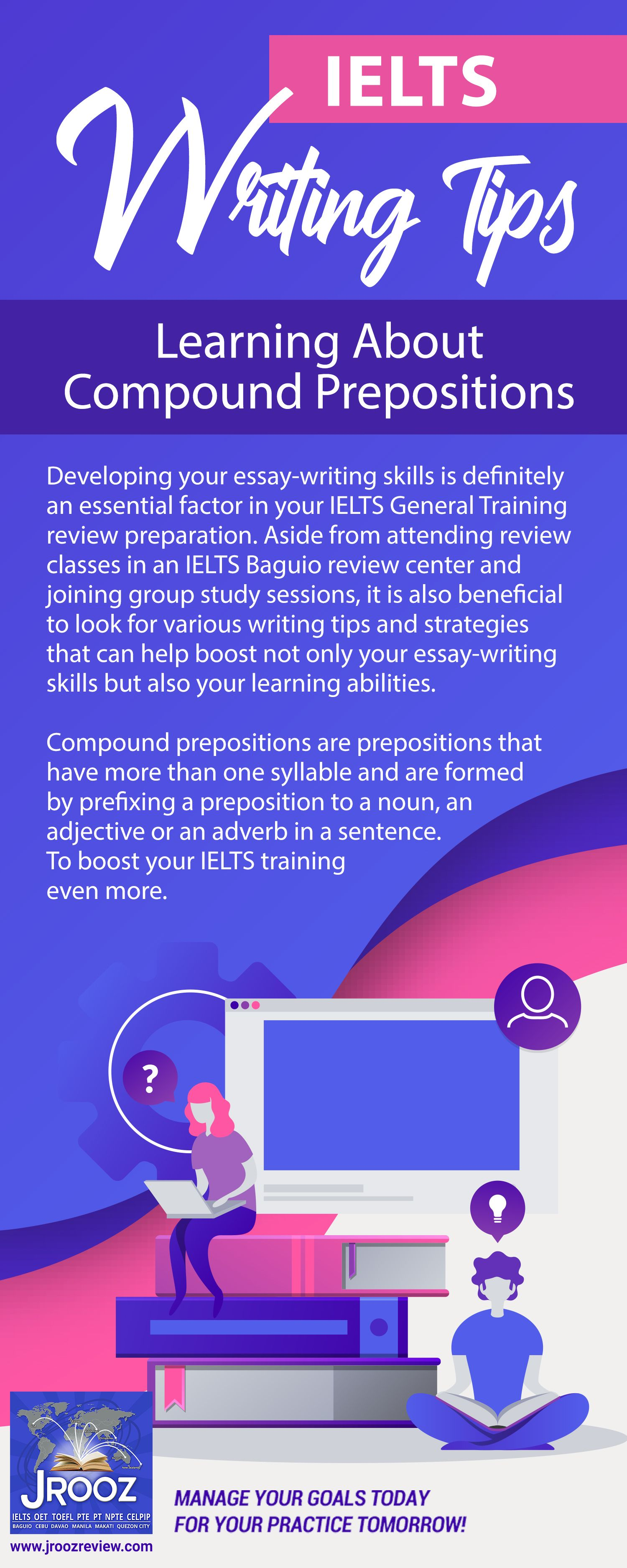 Ielts Writing Tips Learning About Compound Prepositions