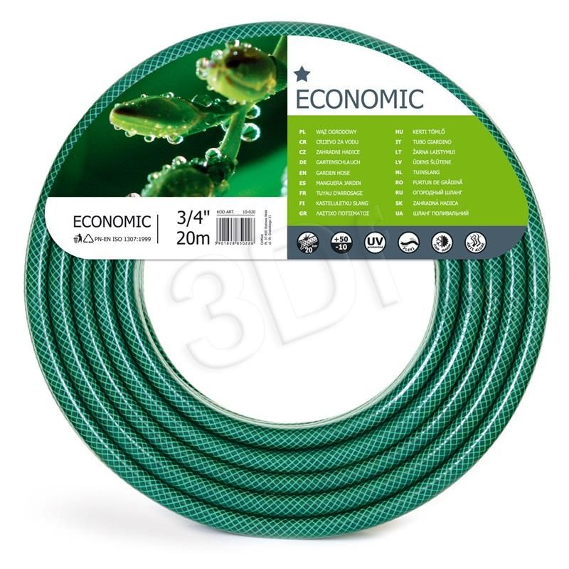 Waz Ogrodowy Z Pcw 3 4 20m Economic Cellfast Garden Hose Hose Garden Hoses