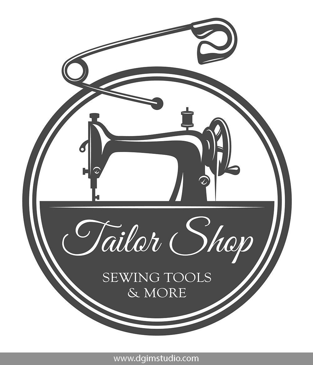 Tailor Print Templates Sewing Logo Sewing Logo Design Tailor Shop