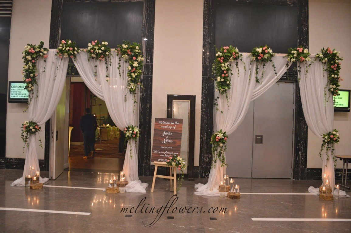 How To Select The Right Wedding Locations In Bangalore Weddinghotels Weddingvenues Wedd Wedding Entrance Decor Wedding Entrance Wedding Backdrop Decorations