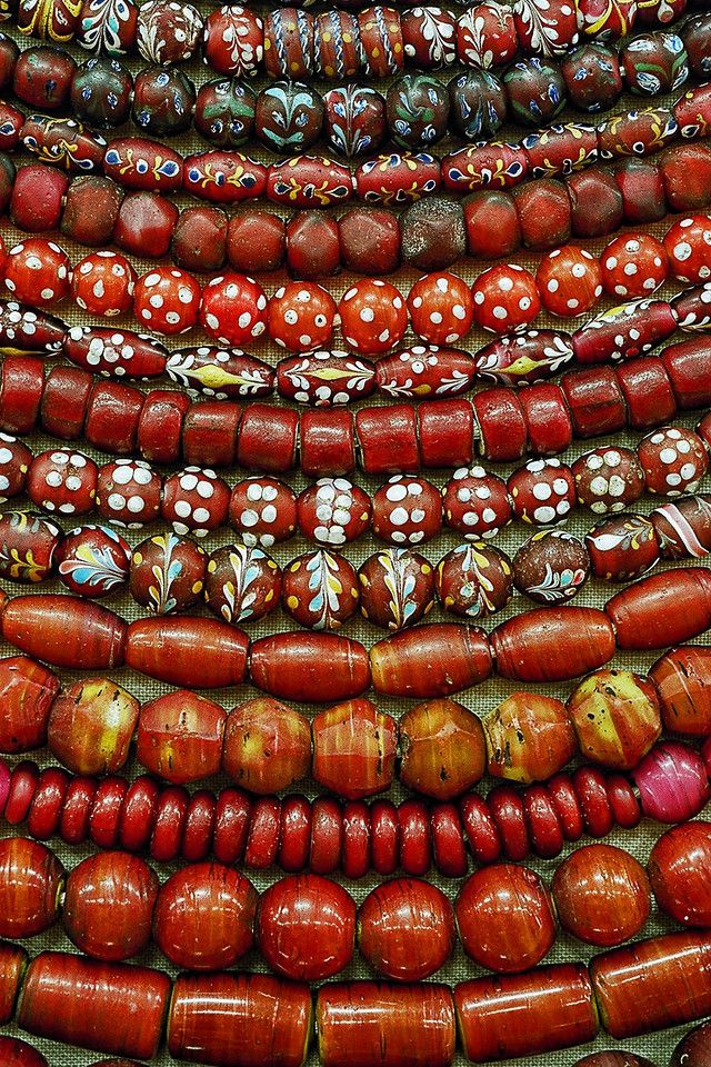 Venetian Whiteheart Beads