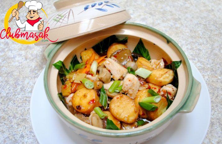Resep Sapo Tahu Resep Sapo Tahu Seafood Solaria Club Masak Resep Masakan Masakan Indonesia