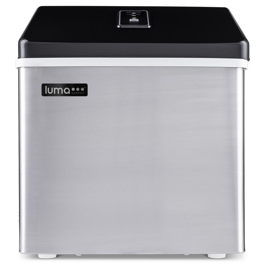 Luma Comfort Portable 28 Lb Of Ice A Day Countertop Clear Ice