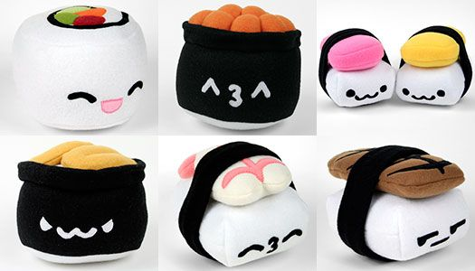 Finally! Previous Sushi Plush Patterns for Sale! | SHUT UP AND TAKE ...