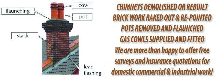 Chimney Repairs Brick Repair Roof Repair Flat Roof Repair