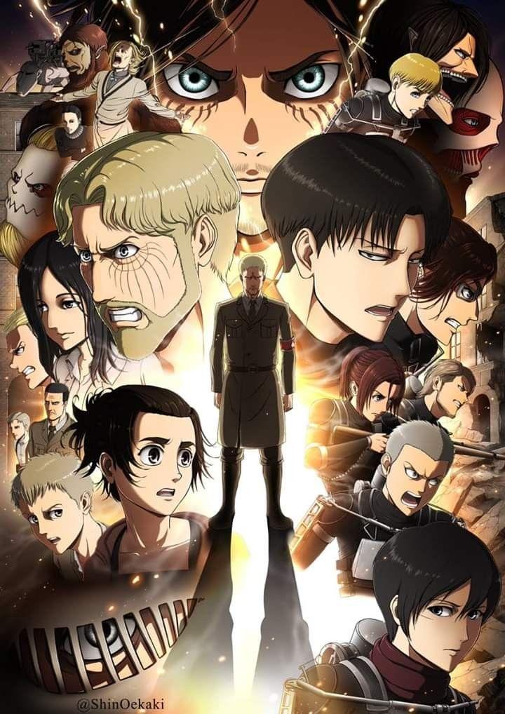 Shingeki No Kyojin Season 4 Fond D Ecran Dessin Illustrations Animees Attaque Des Titans Personnage