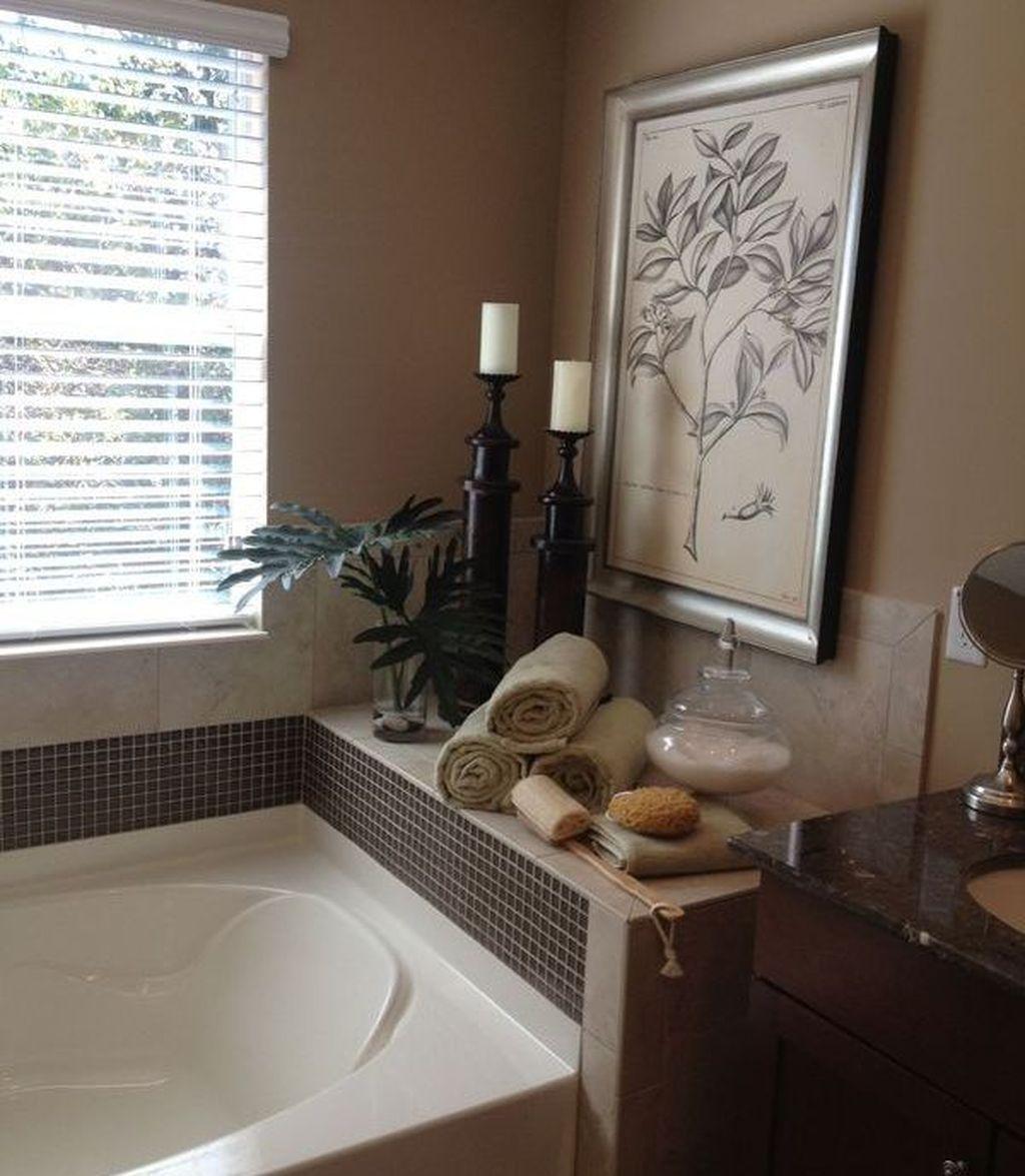 45 Affordable Bathroom Garden Tub Decorating Ideas In 2020