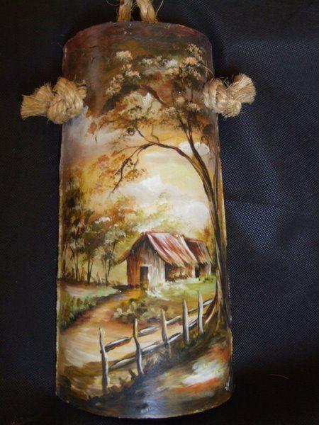 Pintura leo sobre telha tejas decoradas pintura em telhas telhas de barro artesanato em - Pintar tejas de barro ...