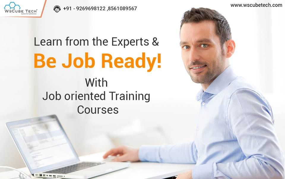 Learn from the Industry Experts & be Job ready with
