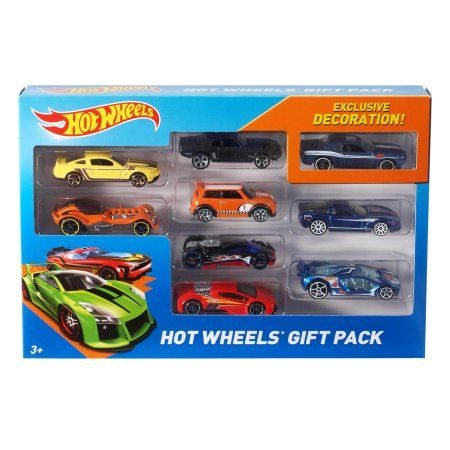 Hot Wheels 9-Car Collector Gift Pack (Styles May Vary) - Walmart.com