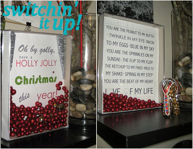 Shadow Boxes- Cute Sayings