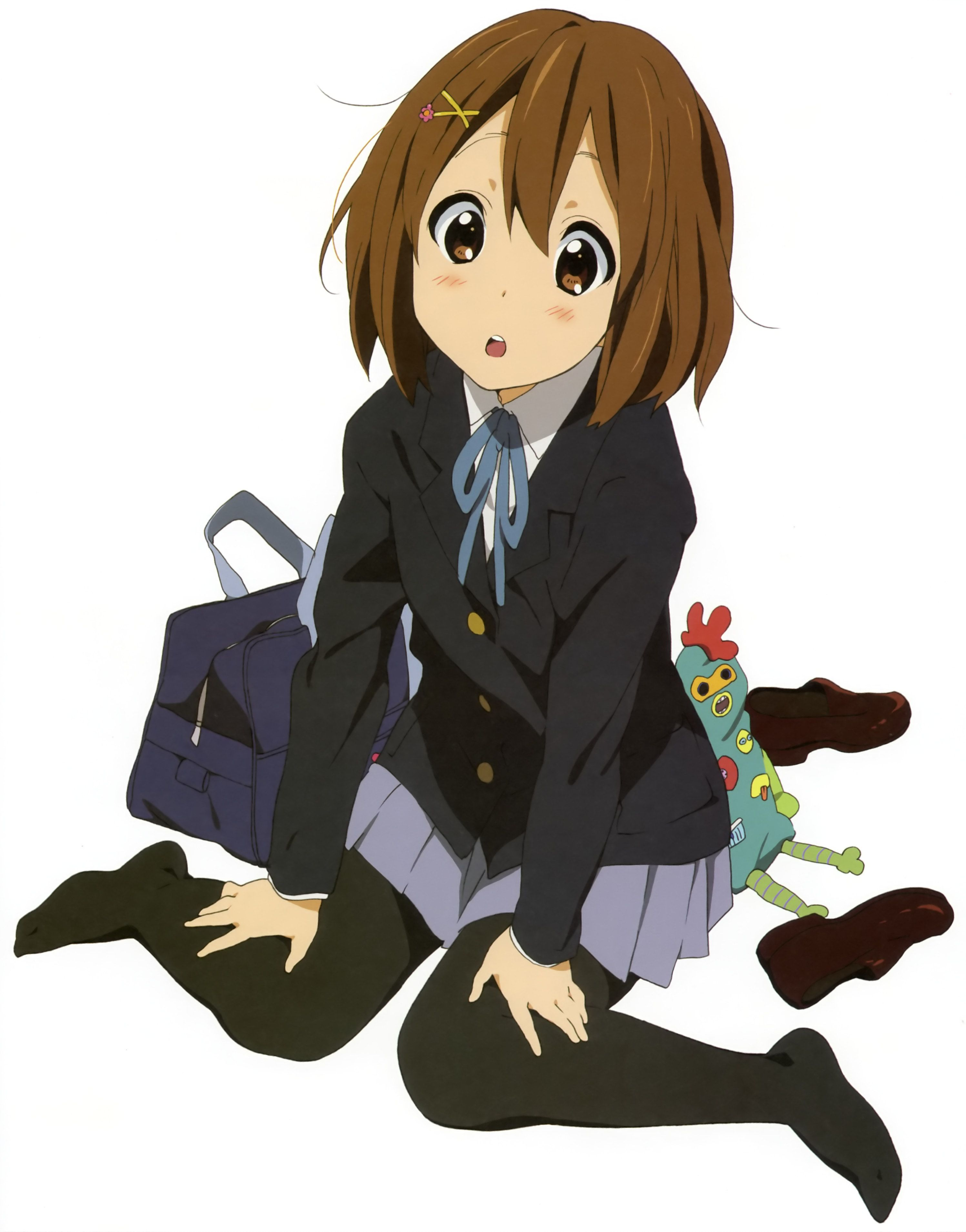 K On Kakifly Kyoto Animation Hirasawa Yui アニメの女の子