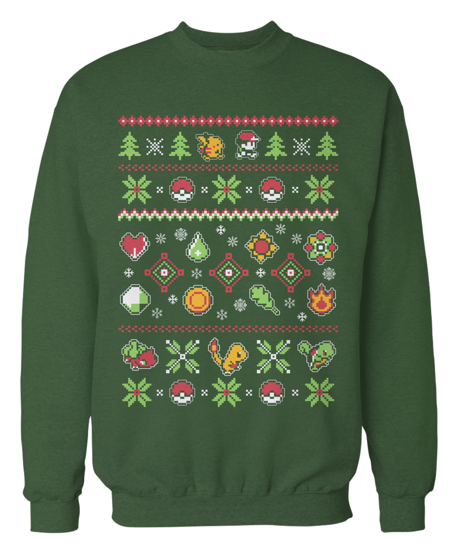 Pokemon Apparel - The perfect gift, gear, or clothing for people who love Pokemon! Great for the holidays!