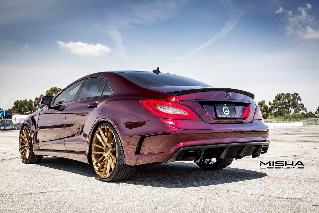 Mercedes-Benz CLS by Misha Designs #mbhess #mbtuning #mishadesigns