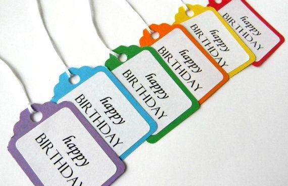 happy birthday gift tags cute ideas pinterest happy birthday